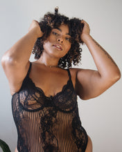 Underthing Lingerie Lace Plus Size Lingerie Lace Bodysuit Sexy Woman Black Owned Brand Black Woman