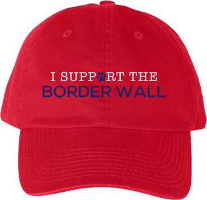 I Support the Border Wall Hat