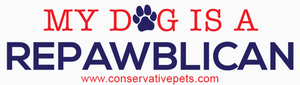Conservative Pets Bumper Sticker