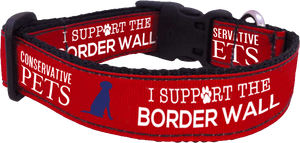 I Support the Border Wall Collar