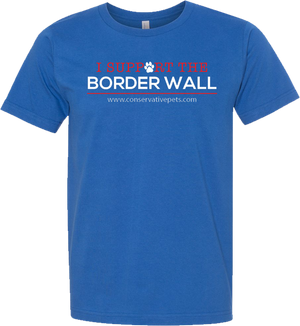 I Support the Border Wall T-shirt