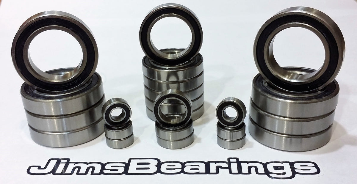 Hot Racing Brass Front Knuckle Scx 2 bearings