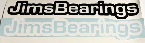 JimsBearings Vinyl decal
