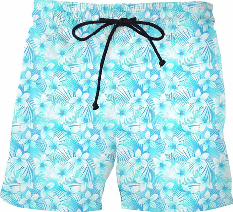 Tropical Swim Shorts - SS0207 - TROD Lightly