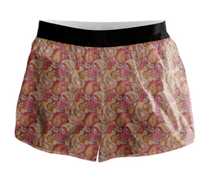 Paisley Active Shorts - 00011