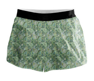 Paisley Active Shorts - 00013