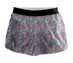 Paisley Active Shorts - 00010