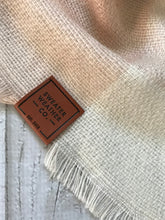 Sweater Weather Co. Blanket Scarf - Blush + Charcoal