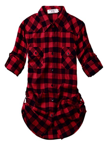 Plaid Flannel Shirt - Buffalo Plaid