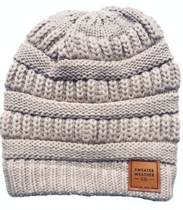 Sweater Weather Co. Beanie - Taupe