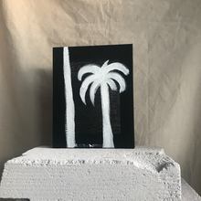 Mini White Ink Palm | 190729