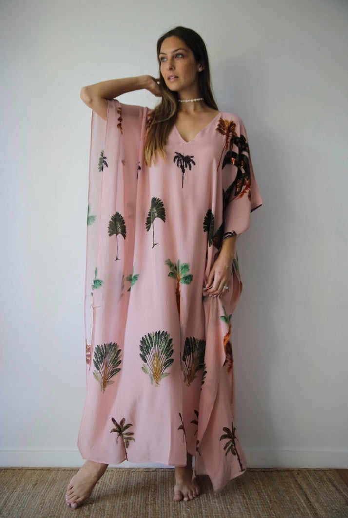 Palmarum in La Palma long split hem kaftan
