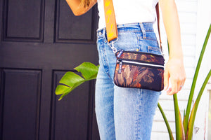 Cross Body Bag in Coco Cabana black