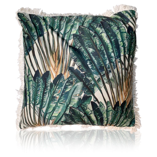 Queen Havana Cushion - 60cm fringed edition