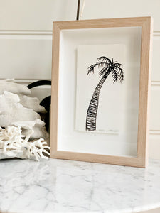 Signature Libby Watkins | Mini Ink Palm | 91803 | Made to order with artist Libby Watkins