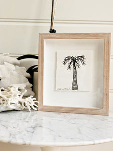 Signature Libby Watkins | Mini Ink Palm | 91805 | Made to order with artist Libby Watkins