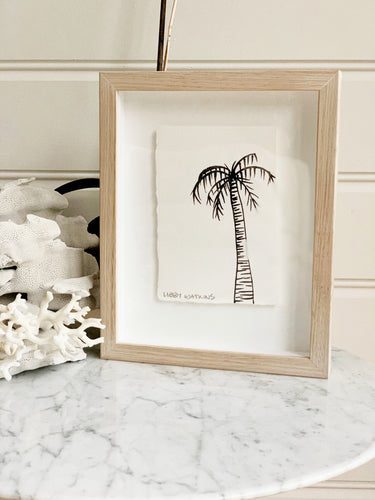 Signature Libby Watkins | Mini Ink Palm | 91807 | Made to order with artist Libby Watkins