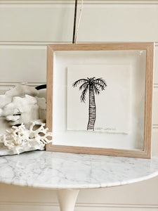 Signature Libby Watkins | Mini Ink Palm | 91808 | Made to order with artist Libby Watkins