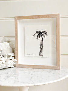 Signature Libby Watkins | Mini Ink Palm | 91810 | Made to order with artist Libby Watkins