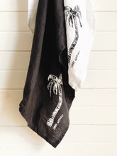Ink Palm Signature Linen Tea Towel