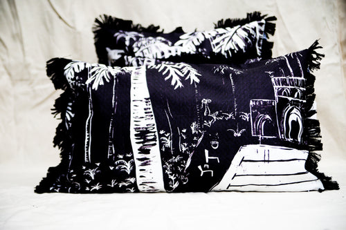 Poolside Paradiso Cushion - 74cm
