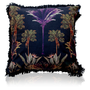 Coco Cabana Cushion - 60cm Black