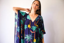 DE Palmis in La Palma long split hem kaftan
