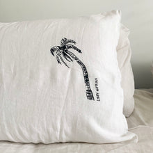 Signature Single Ink Palm Pillow Cases
