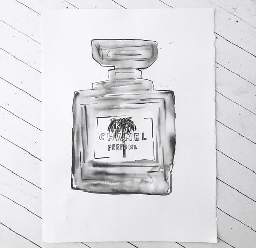 Signature Chanel Ink Palm | made to order with artist Libby Watkins