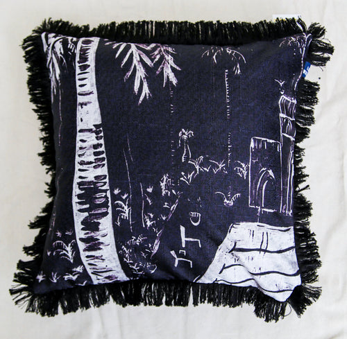 Poolside Paradiso Cushion - 60cm