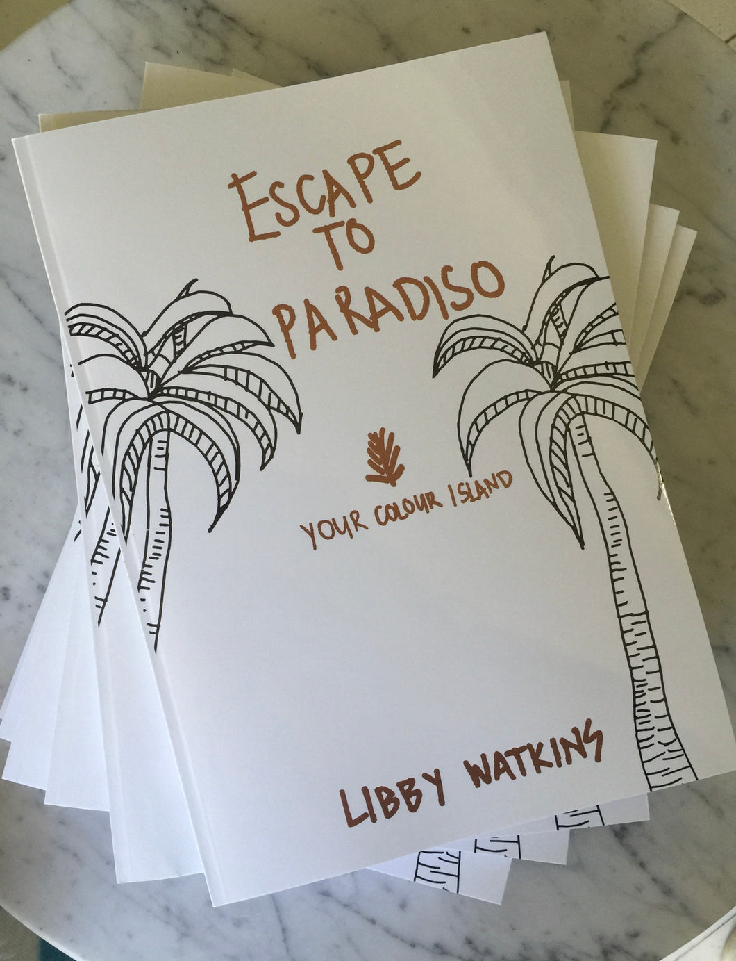 Escape to Paradiso Colouring Book FREE