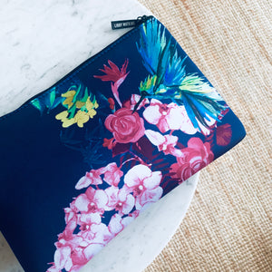 The Super Pocket in Fleur de Paradis Navy