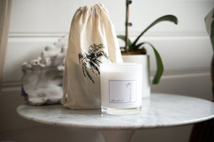 Candle Tahitian Lime and Coconut - Ink Palm