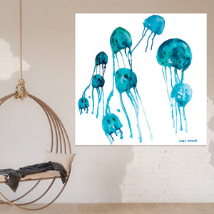 Jelly fish Pod 127 x 127cm Ex Display