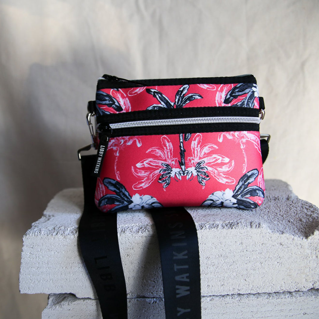 Belt Bag Bag in Banana Bungalow - Coral