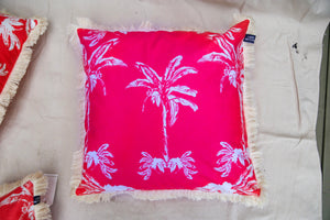 Banana Bungalow Cushion - Pink 60cm