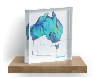 Travelling Australia Map artwork | made to order with artist Libby Watkins