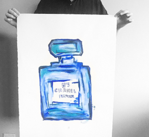 CHANEL NO 5 artwork by Libby Watkins | Made to order