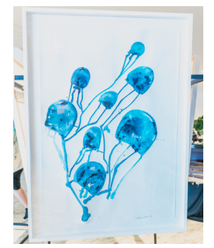 Jellyfish Pod - Xtr Large Framed