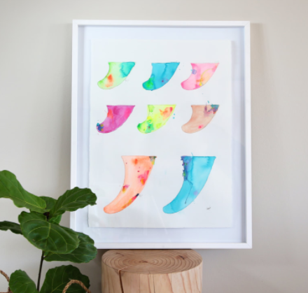 Signature Fin Spectrum | made to order with artist Libby Watkins