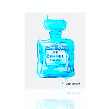 Chanel Ink Palm Cyan ink