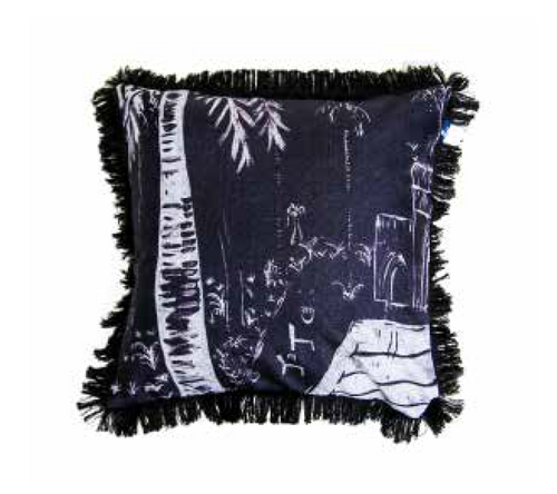 Poolside Paradiso Cushion - 45cm