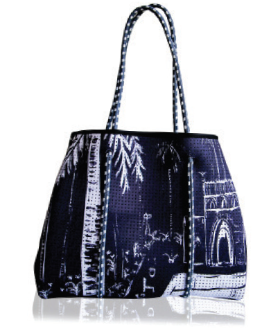 Reversible Tote in Poolside Paradiso
