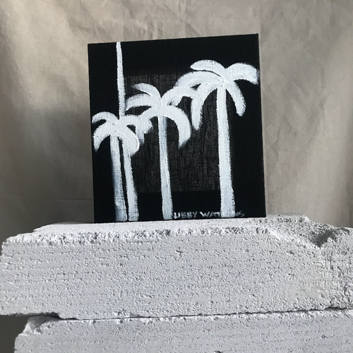 Mini White Ink Palm |190726