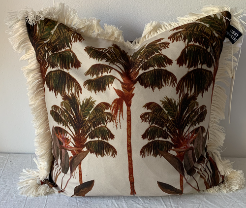 Coco Cabana Cushion - 45cm washed sage