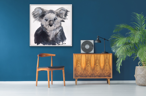 "Gumleaf Baby Koala 16"" x 16"" Ex Display"