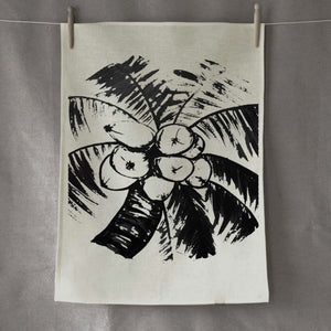 Coconut Signature Linen Tea Towel