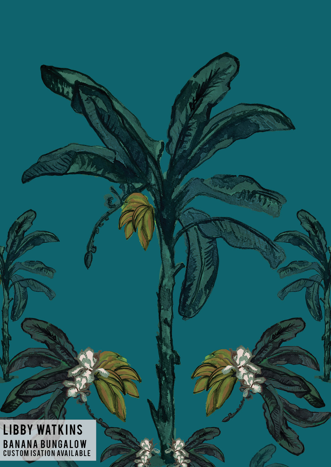 Banana Bungalow Wallpaper