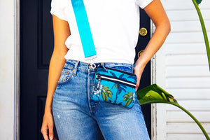 Belt Bag in Banana Bungalow