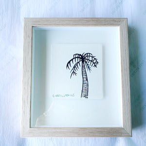 Signature Libby Watkins | Mini Ink Palm | 91811 | Made to order with artist Libby Watkins